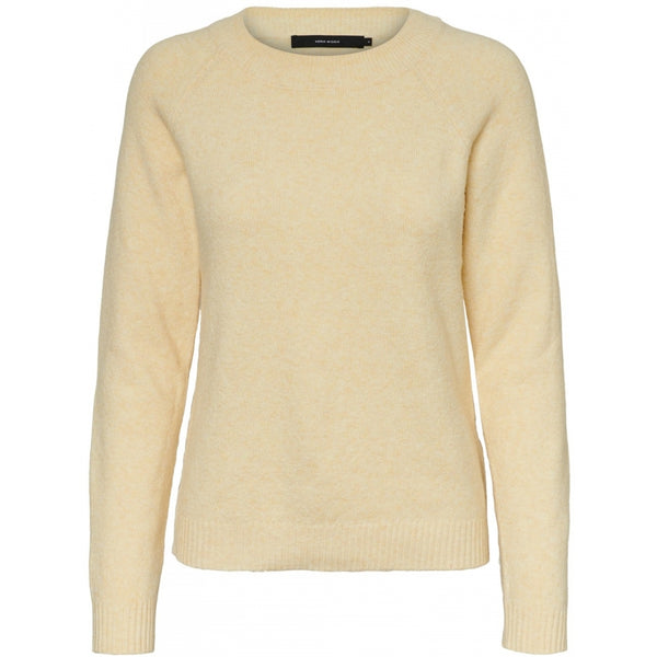 Vero Moda Vero Mode dame strik VMDOFFY Knit pale banana