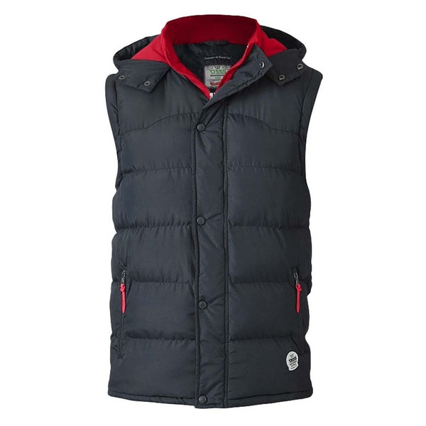 Duke Clothing Vest Herre D555 DENVER Vest Black