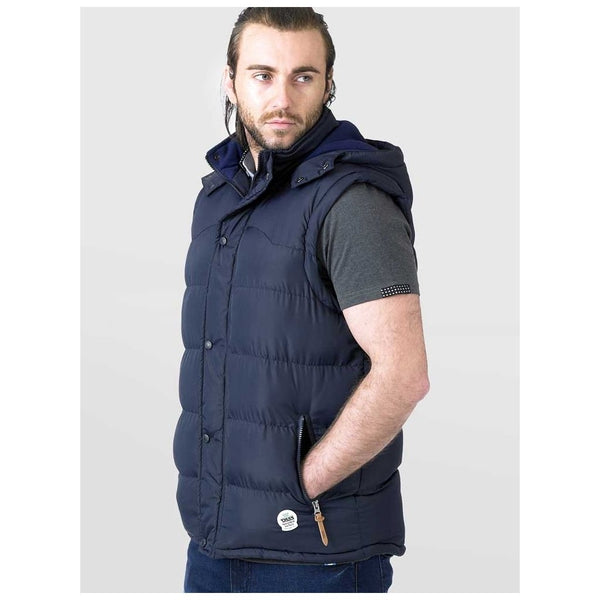 Duke Clothing Vest Herre D555 DENVER Vest Navy