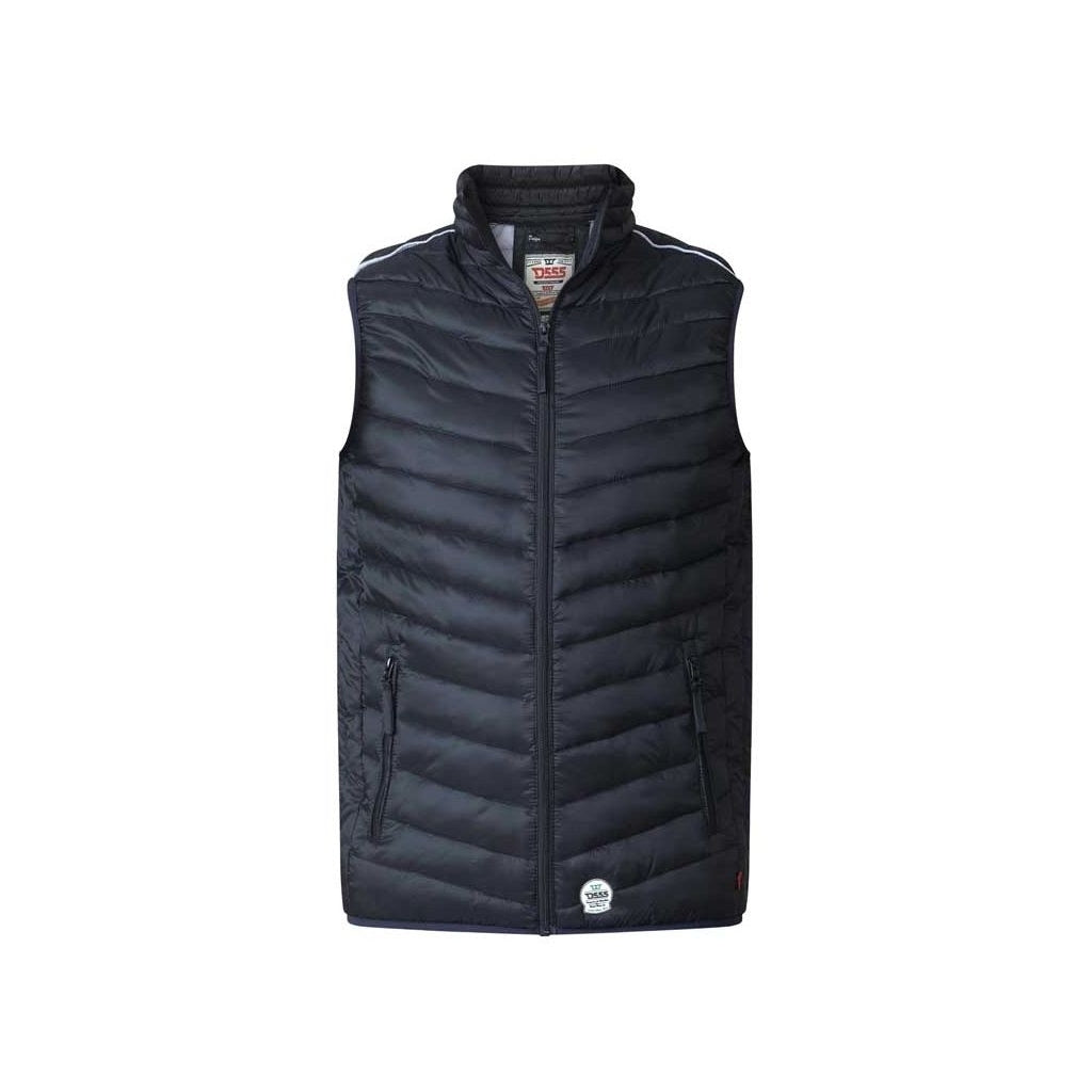 Image of   Vest herre D555 STEVIE - Black - L