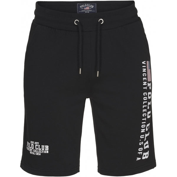 Vincent Polo Club Vincent Polo Club Shorts Sunnyvale Shorts Black