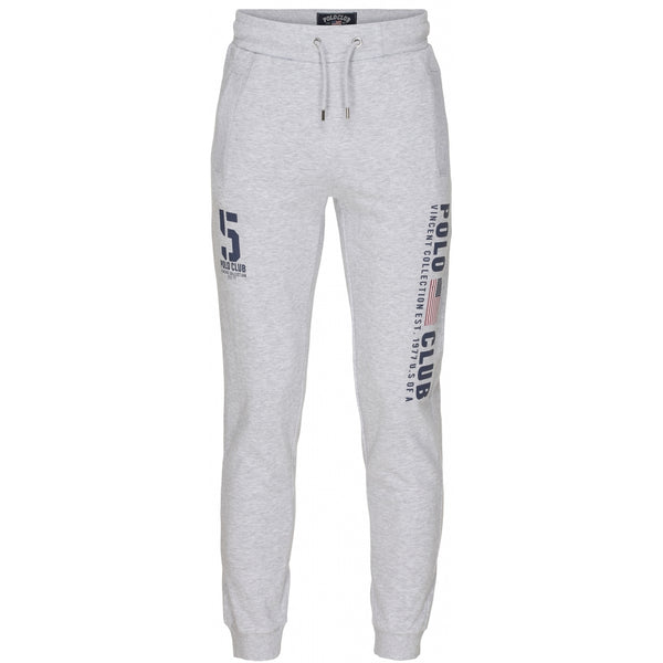 Vincent Polo Club Vincent Polo Club Sweatpants Stockton Sweatpant Grey