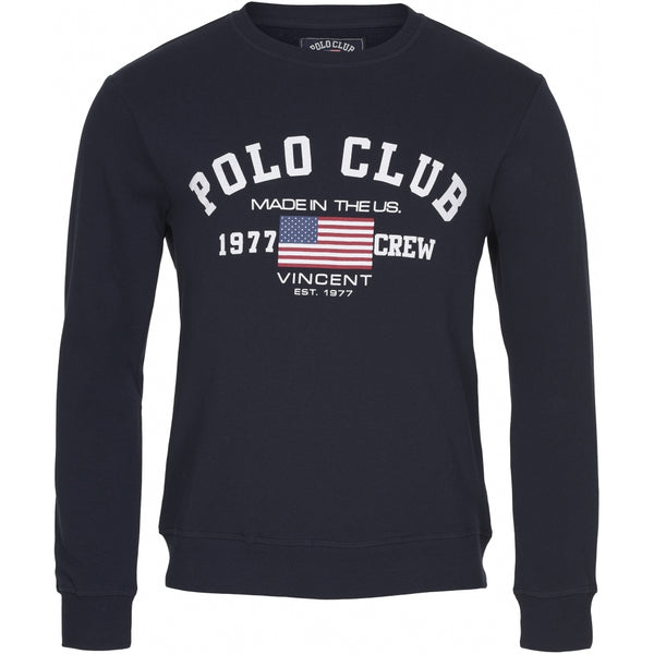 Vincent Polo Club Vincent Polo Club Sweatshirt St-Louis Sweatshirt Navy