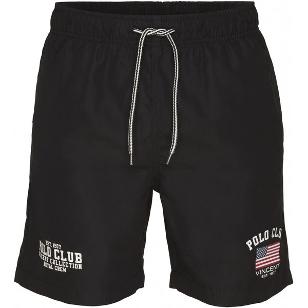 Vincent Polo Club Vincent Polo Club herre badeshorts Pasadena Shorts Black