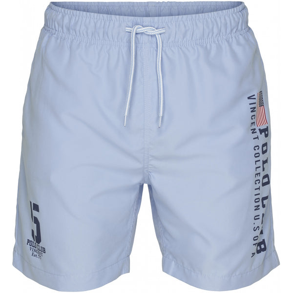 Vincent Polo Club Vincent Polo Club herre badeshorts hollywood Shorts Blue