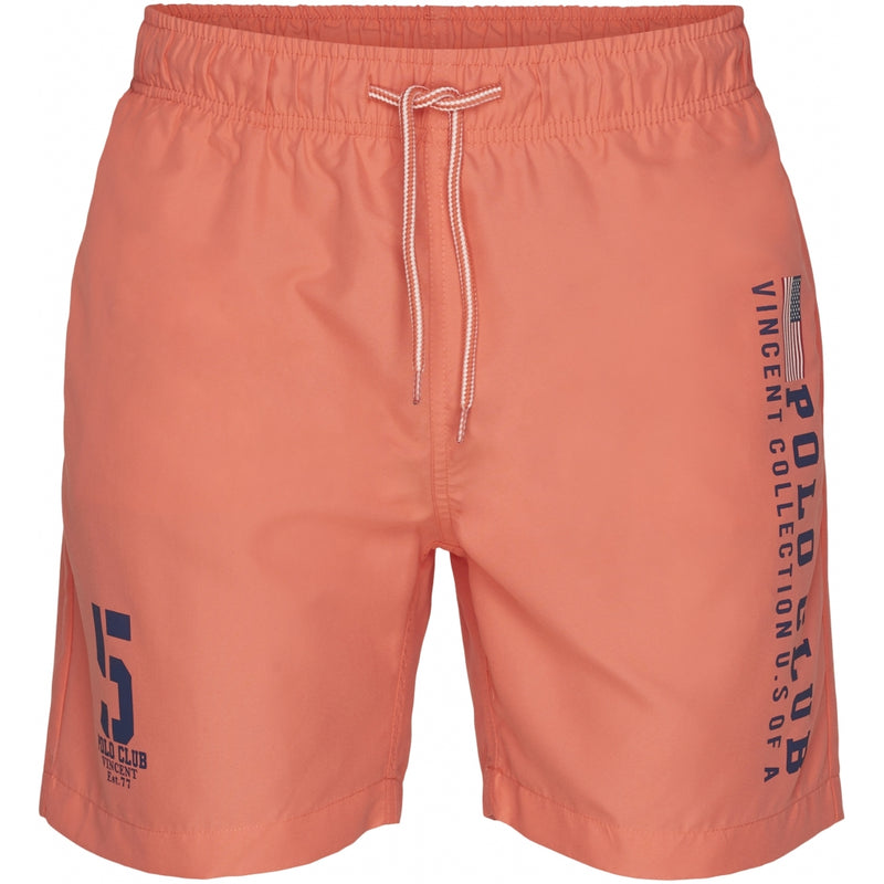 Vincent Polo Club Vincent Polo Club herre badeshorts hollywood Shorts Coral