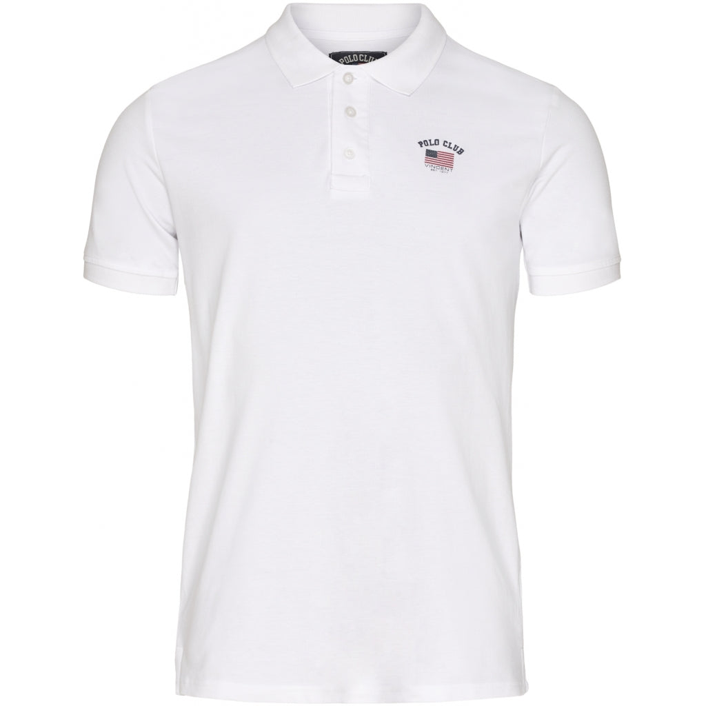 Vincent polo club herre polo loisville - White
