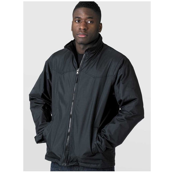 Duke Clothing Windbreaker Jakke Herre D555 RAYFORD Jacket Black