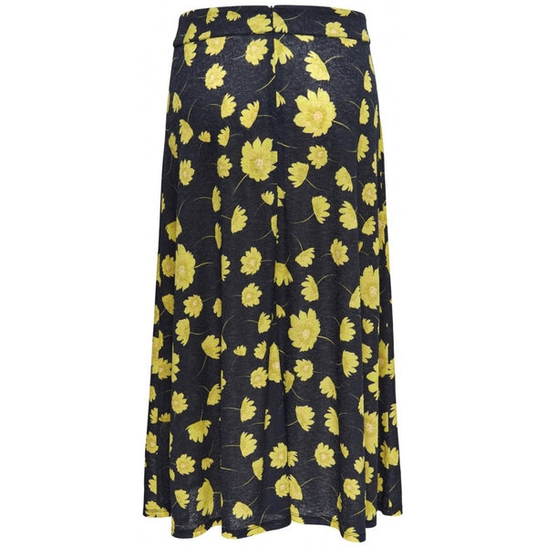 Jacqueline De Yong JDY Stockholm Skirt Skirt Navy/Yellow