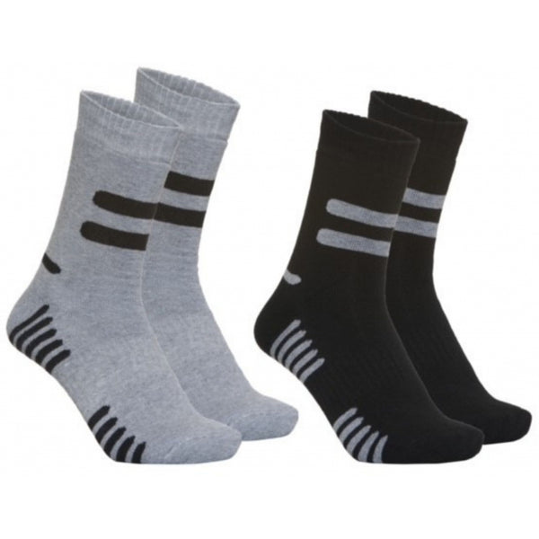 Tex-Time Skistrømper Socks Black/d.grey