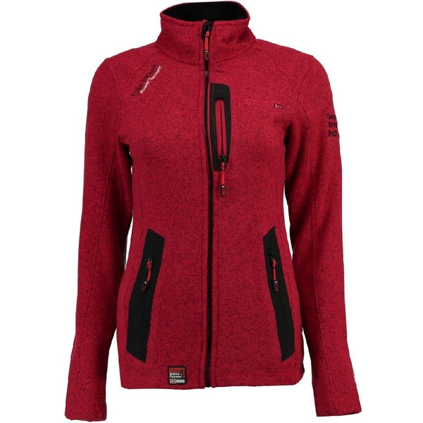 Geographical Norway geographical Norway Dame Fleece Jakke Tazzera Fleece Red