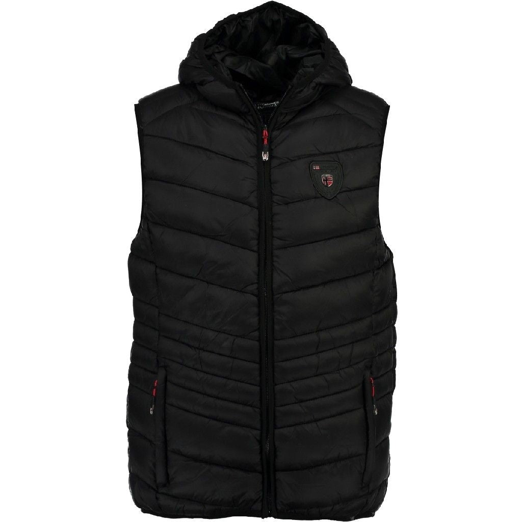 Image of   Geographical Norway Herre Vest Volcano - Black - L