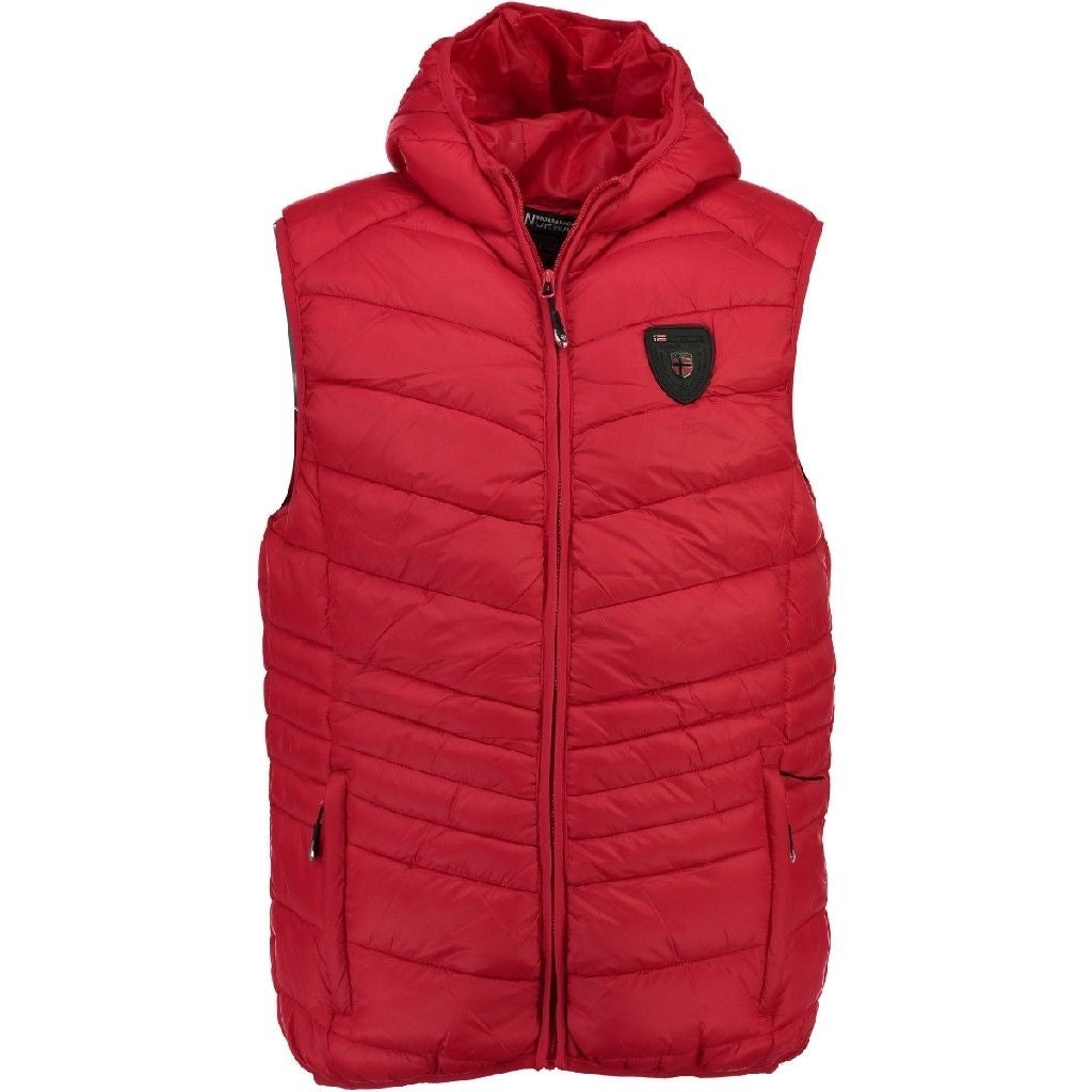 Image of   Geographical Norway Herre Vest Volcano - Red - L