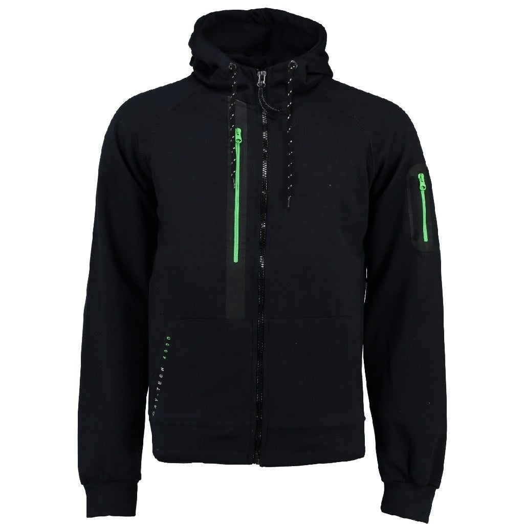 Image of   Geographical Norway Børn Sweatshirt Gluo - Black/green - 10Y