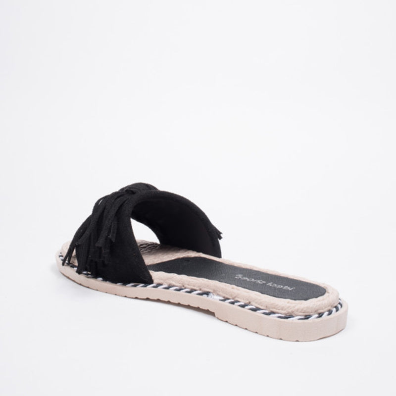 Shoes ideal shoes dame sandaler l-1082 Shoes Black