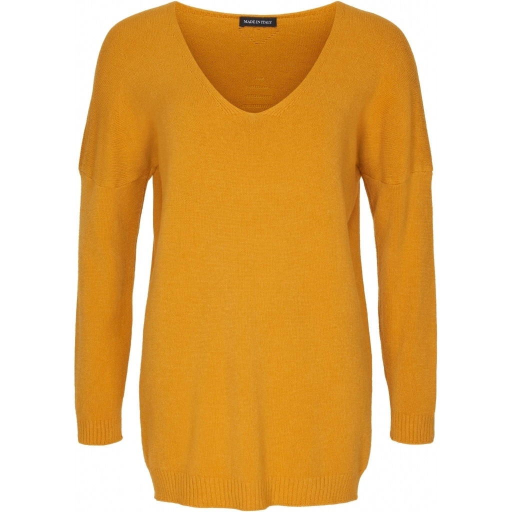 Image of   marta du chateau dame strik pullover 1000 - Yellow - Onesize