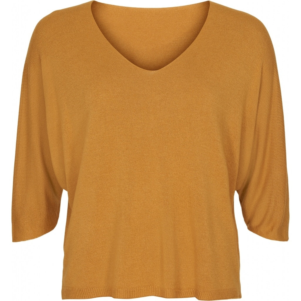 Image of   marta du chateau dame strik pullover 3318 - Yellow - Onesize