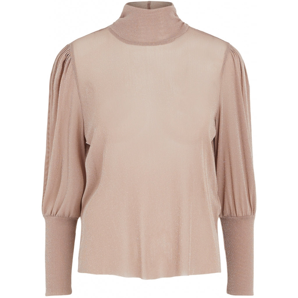 PIECES dame top PCJETTE - Taupe