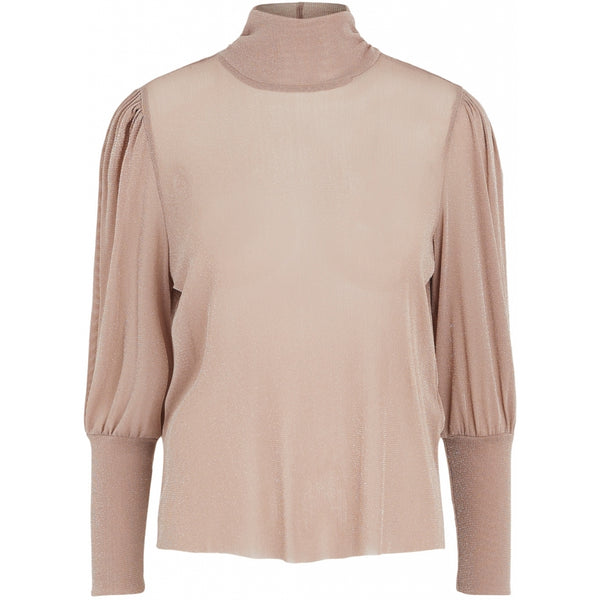 PIECES PIECES dame top PCCHILLI Blouse/shirt Taupe