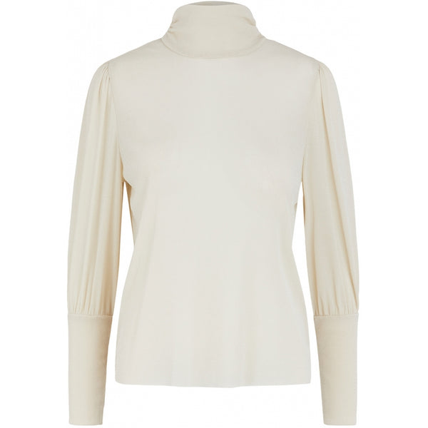 PIECES PIECES dame top PCCHILLI Blouse/shirt Whitecap