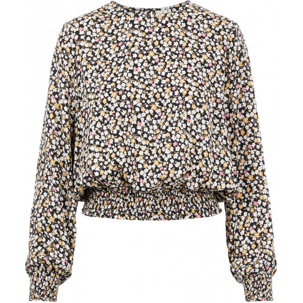 PIECES PIECES dame top PCREBA Blouse/shirt Black