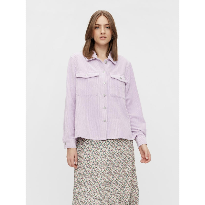 PIECES Pieces dame skjorte PCSTEFFI Blouse/shirt Orchid bloom