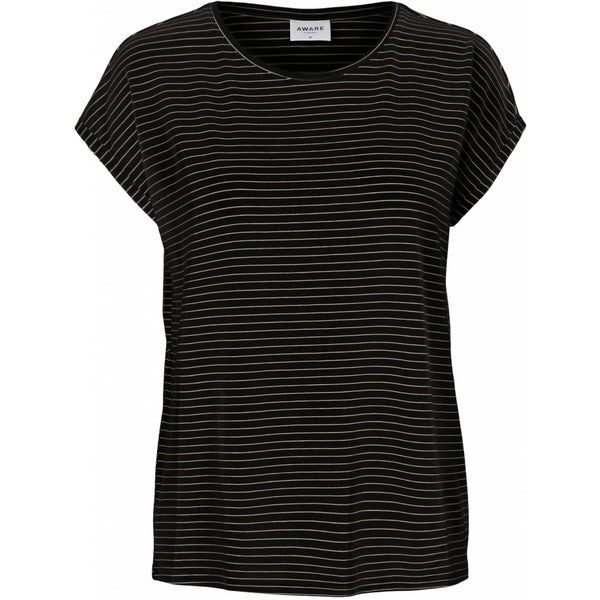Vero Moda Vero Moda dame tee VMAVA T-Shirt/top Black rebecca snow white