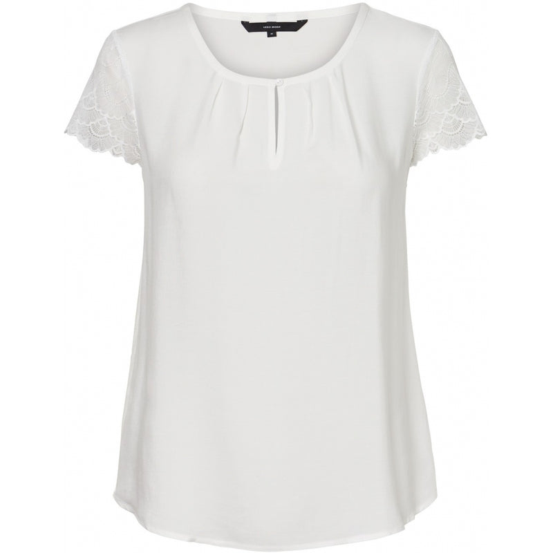 Vero Moda Vero Moda dame top VMNINA T-Shirt/top Snow white