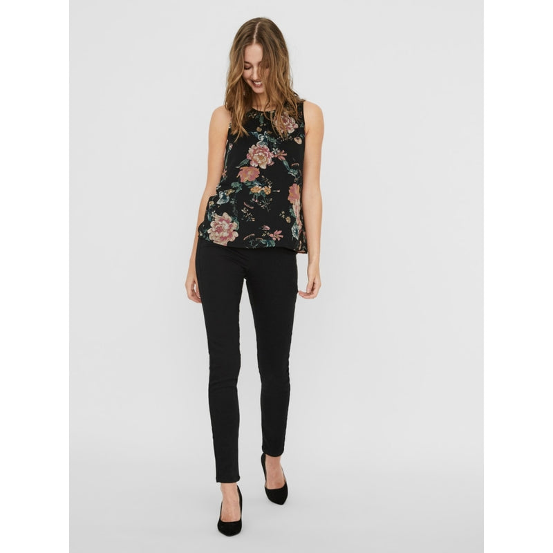 Vero Moda Vero Moda dame top VMSUNILLA T-Shirt/top Black