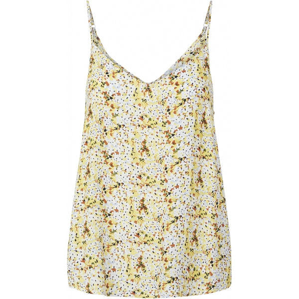 PIECES Pieces dame top PCSUNNY T-Shirt/top Popcorn flowers