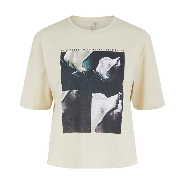 PIECES PIECES dame t-shirt PCRUME T-Shirt/top Fog