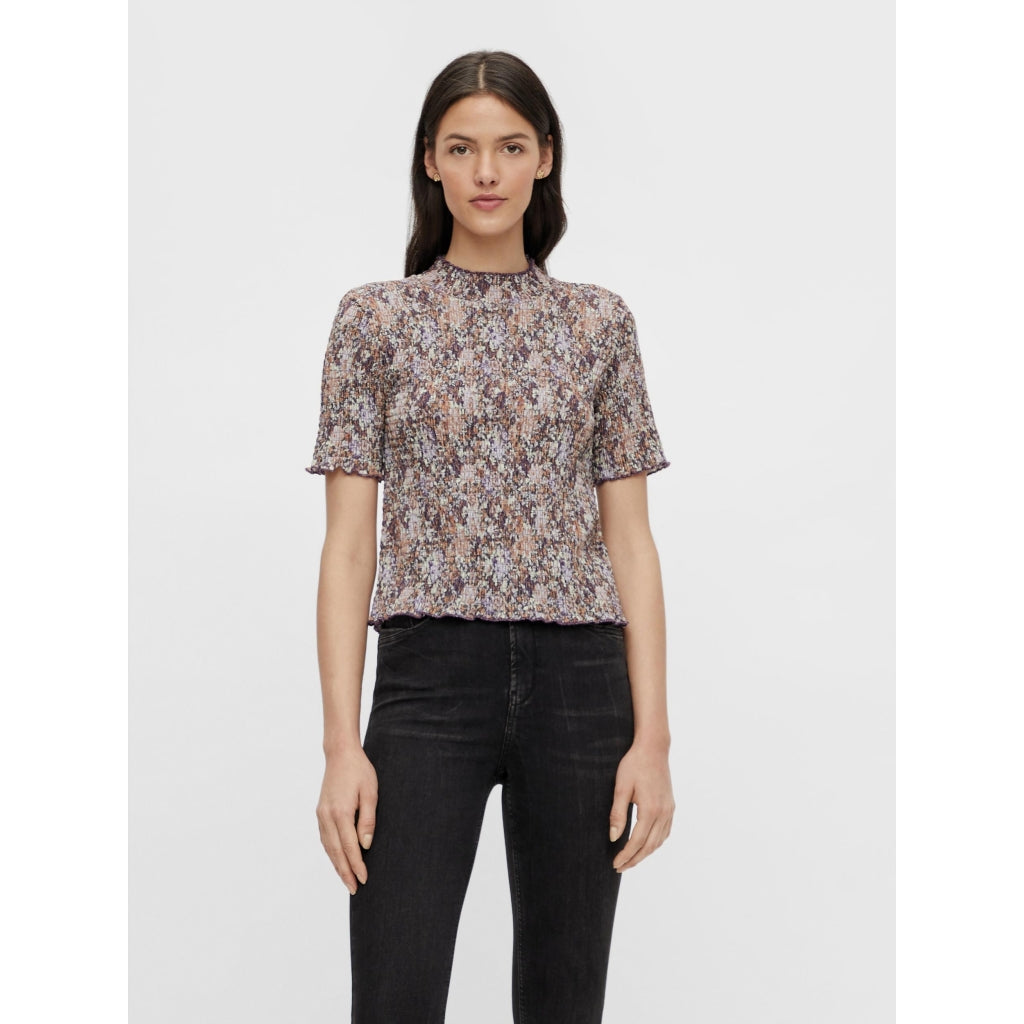 Pieces dame top PCLEASTE - Black Olive