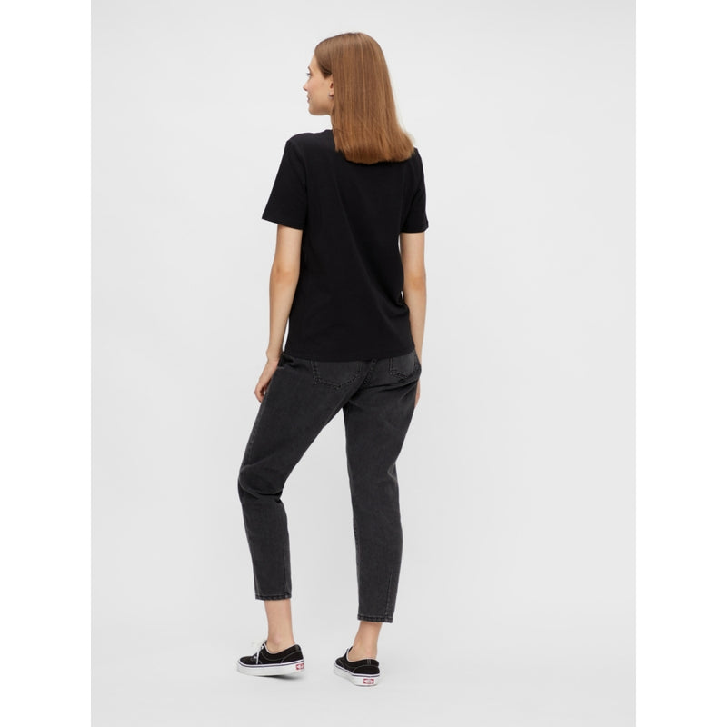 PIECES Pieces dame tee PCSASELINE T-Shirt/top Black