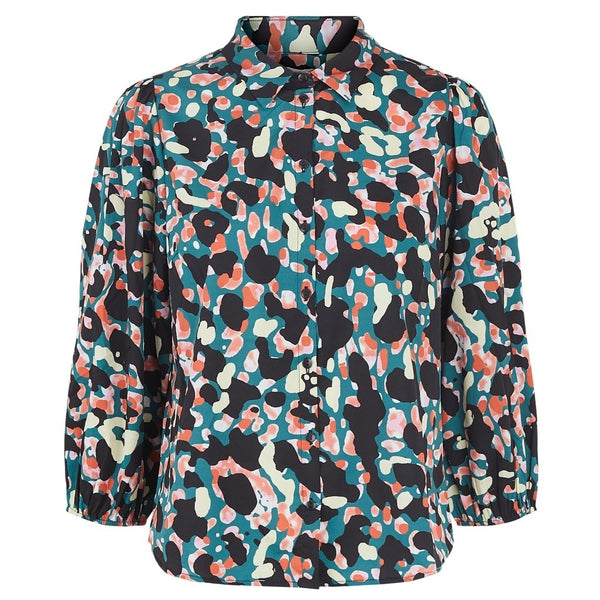 PIECES PIECES dame top PCROSIA T-Shirt/top Sea turtle