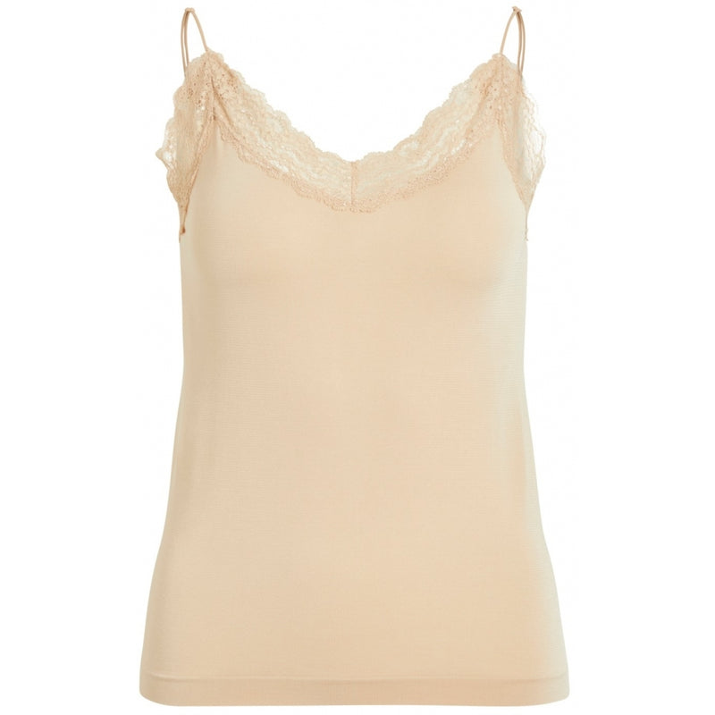 .Object Object dame top OBJLEENA T-Shirt/top Cuban sand