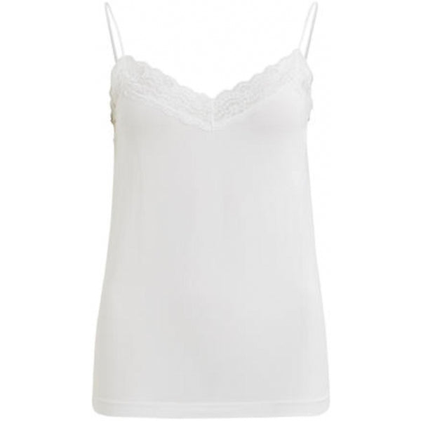.Object Object dame top OBJLEENA T-Shirt/top White