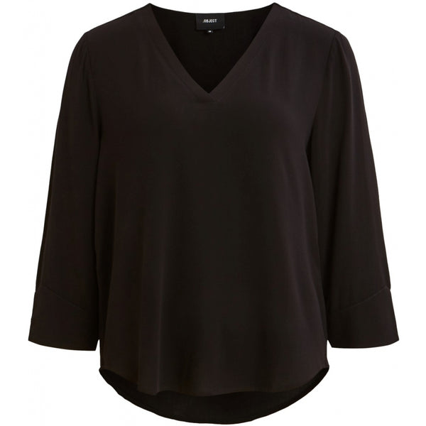 .Object Object dame top OBJBAY T-Shirt/top Black
