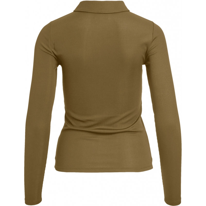 .Object Object dame top OBJARZANA T-Shirt/top Burnt Olive