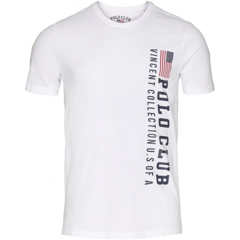 Vincent Polo Club vincent polo club herre t-shirt fresno T-shirt White