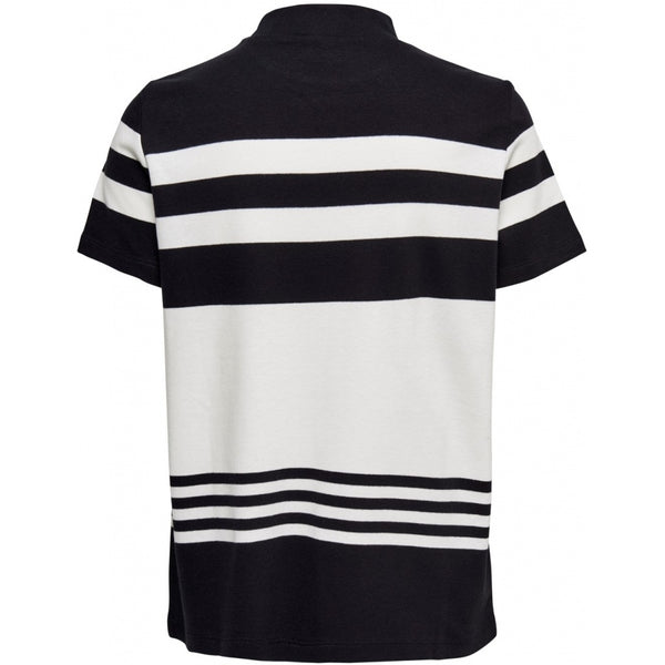 Jacqueline De Yong JDY Symfoni High Neck Top T-shirt Black/white
