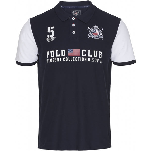 Vincent Polo Club Vincent Polo Club Polo Chicago Polo navy/white