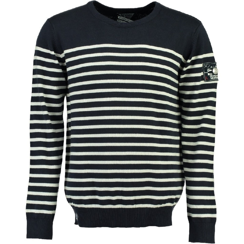 Geographical Norway Geographical Norway Strik Herre FRONTAL Knit navy/white