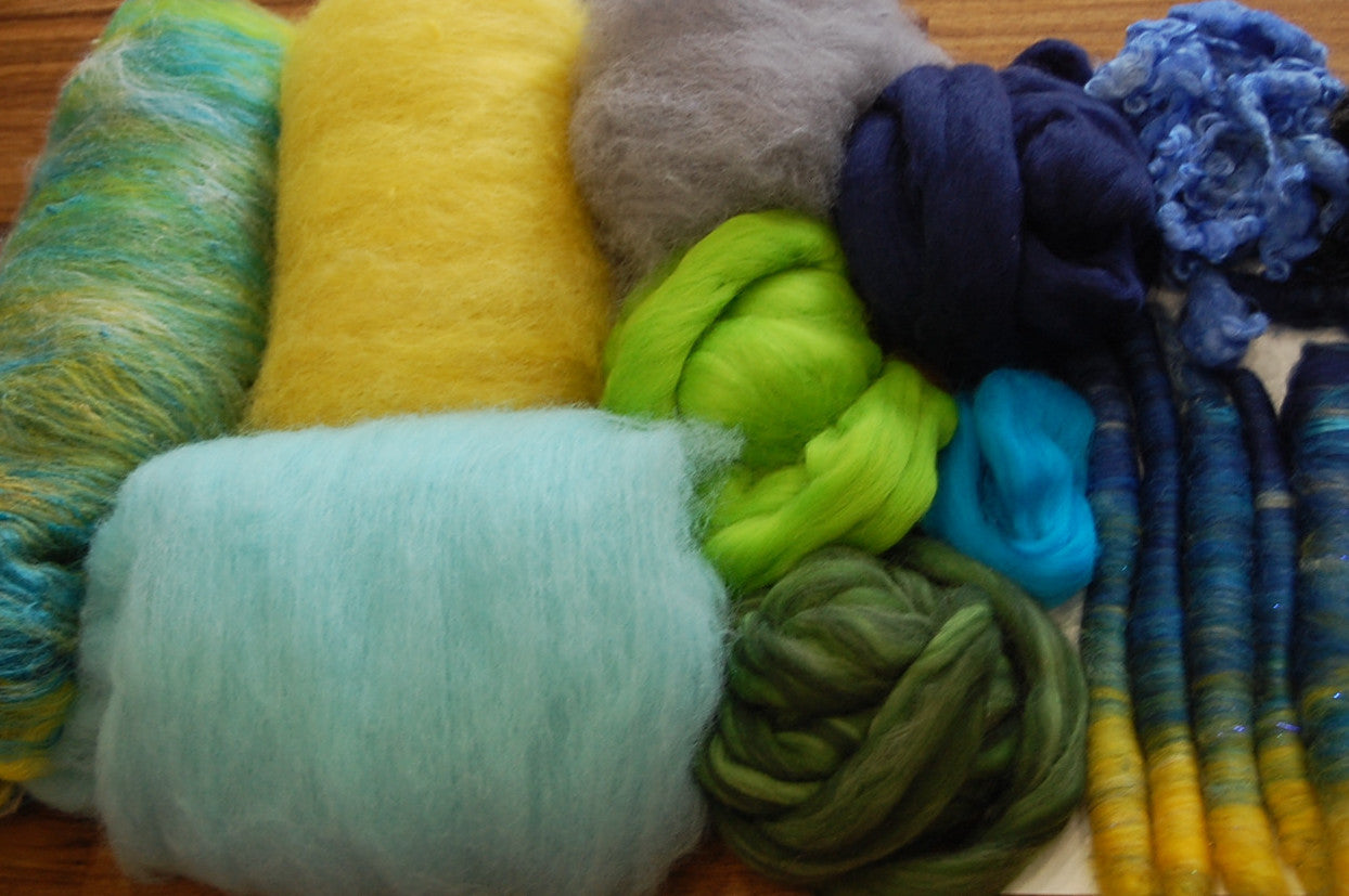 Deluxe Box of Fibre Fun: April Showers