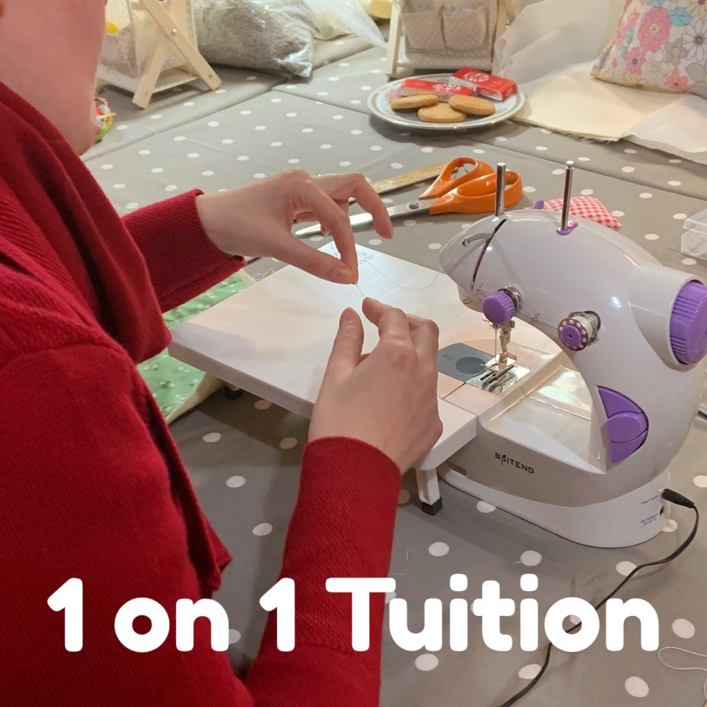 Personal Individual Tuition - Learn to sew, felt or knit