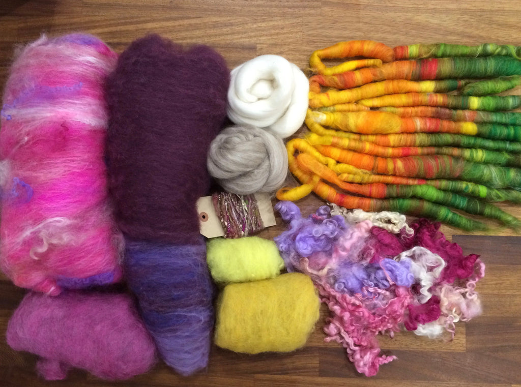 Deluxe Box of Fibre Fun: A Hint Of Spring