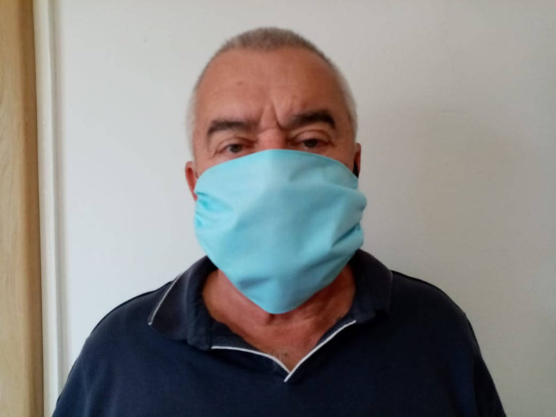 Reusable Material Blue Mask