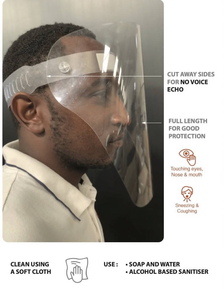 Face Shield: Lite (Packs of 10 or more)