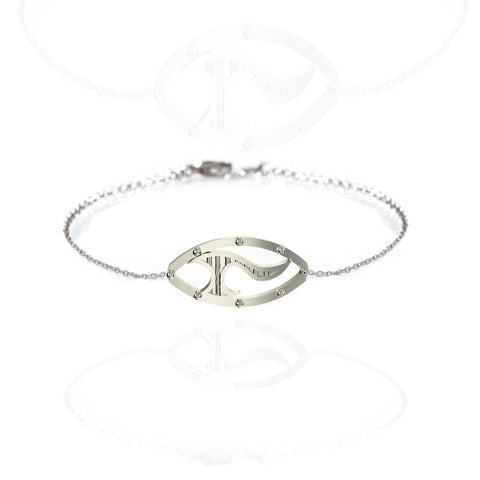 Celtic Sword Bracelet in Sterling Silver