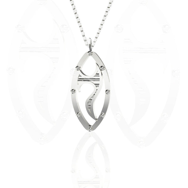 Celtic Sword Pendant in Sterling Silver