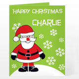 Personalised Santa Card